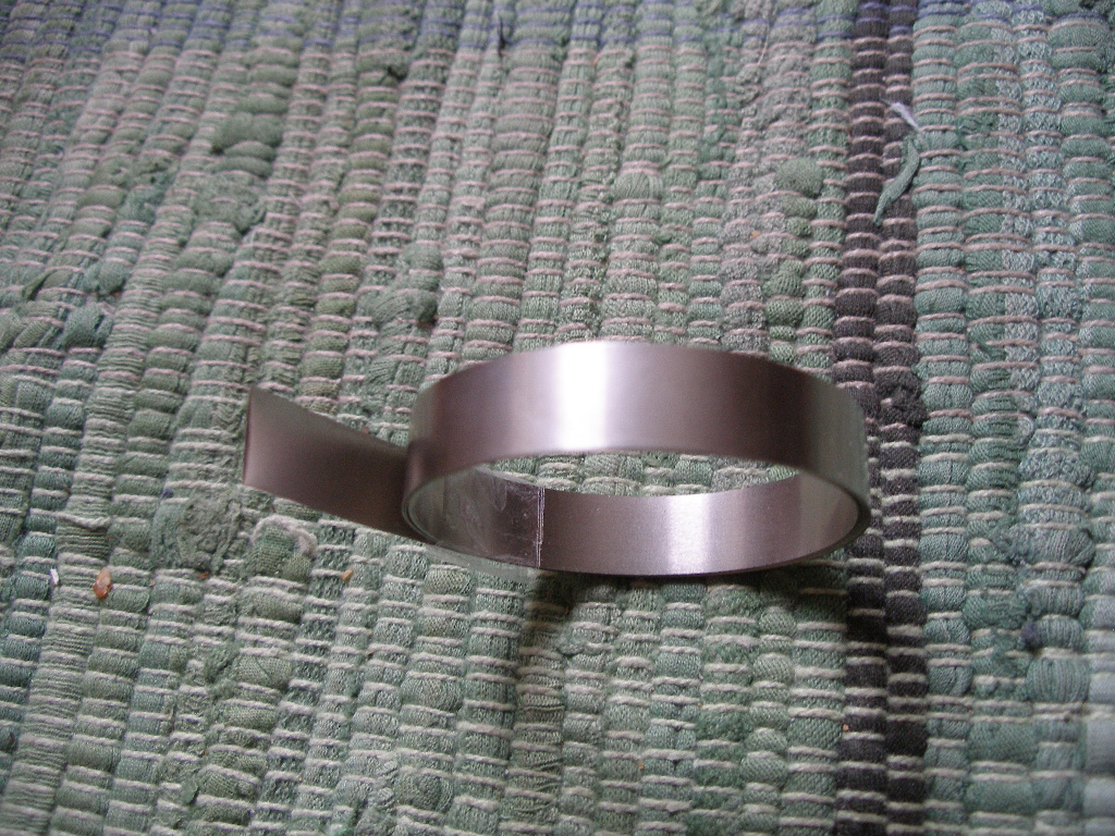Nickelband 10 mm x 0,15 mm