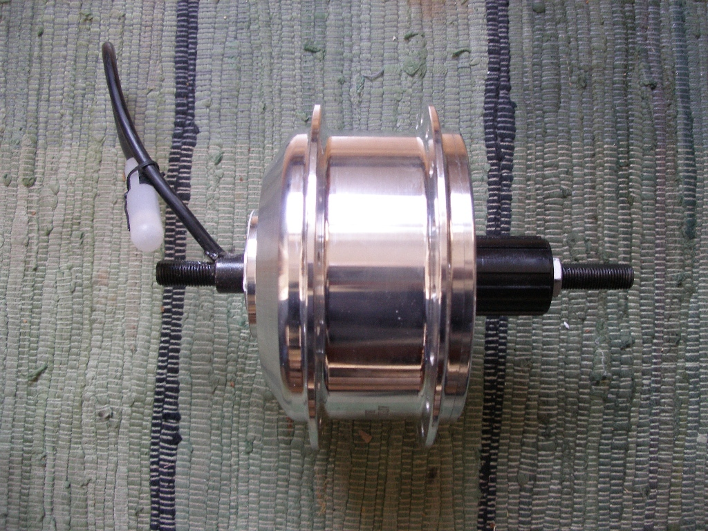 Tongsheng Motor hinten, high torque, CST 330 RPM, 500W