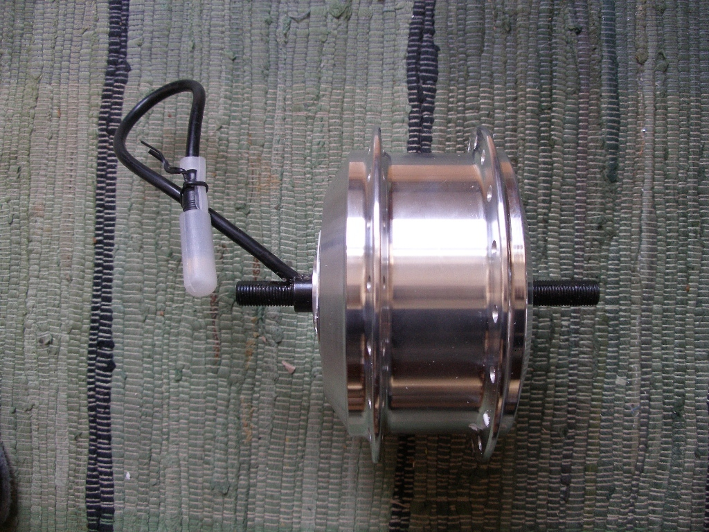 Tongsheng Motor vorne, high torque, 230 RPM, 500W